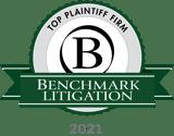 Top Plaintiff Firm_Benchmark 2021